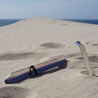 Basic Nature Alumiinikiila Sand / Snow